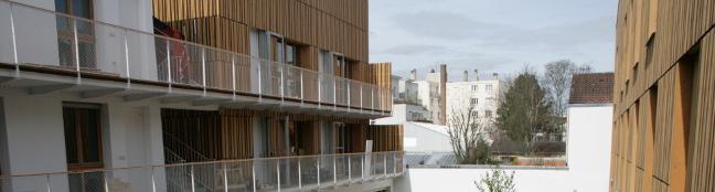 """Wohnprojekt """"Jardin Divers"""" (Paris)"""